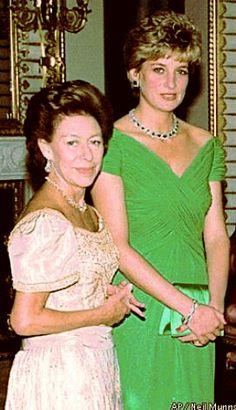Princesses Margaret and Diana