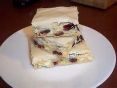 The Daily Smash: White Chocolate Cranberry Bars