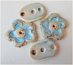"conectores "" crema-azul "" de MAJOYOAL por DaWanda.com"