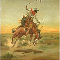 Charles Schatzlien, oil - Charlie Russel's first art dealer.