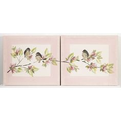 Cotton Tale 2-pc. Nightingale Wall Art Set