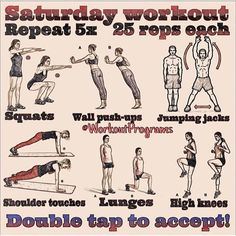 Great workout to keep of the weekend!! Let's get this going folks!! Double tap and tag a friend to accept this routine! @exerciseprograms  SnapChat: WorkoutPrograms