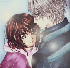 Zero x Yuki Yuki And Zero, Manga Anime, Anime Art, Yuki Kuran, Zero Kiryu, Vampire Knight, Phone Backgrounds, Anime Love, Anime Characters
