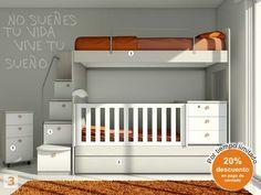Mueble:  (Código A11) bebes-cunas-muebles-juveniles-hogar-bebe -  AGIOLETTO, Muebles Infantiles, Muebles Juveniles
