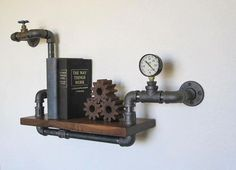 Acessorio Steampunk industrial