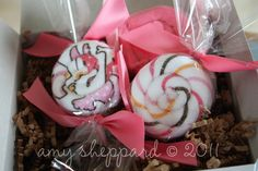 Washcloth Candy~Super easy, and super adorable