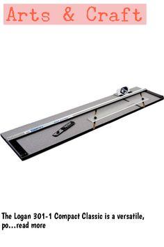 (This is an affiliate pin) The Logan 301-1 Compact Classic is a versatile, portable 32 inches (81cm) capacity mat cutter that provides affordable and professional results. The capacity of mat board between the hinges accommodates up to 32 inches (81cm) but being an open end machine, the length of a cut can be infinite by cutting and sliding the material through the length of the machine. Includes parallel mat guide for setting border widths from 3/4 inch (1.9 cm) to 4-1/2 inch (11.4 cm)…