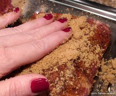 Moist and Tender Barbecue Pork Ribs In The Oven