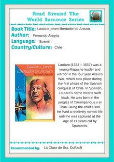 La Clase de Sra. DuFault: RATWSS: Lautaro, joven libertador de Arauco