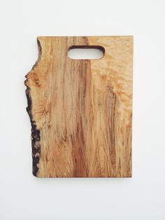 Maple Live Edge Single Handle Cutting Board