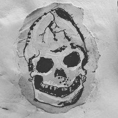 Draw skulls everywhere #skull #graffiti #streetart #blackandwhite #evil #death #satan #illustration #illustrator #character #colourful #instaart #picoftheday #sketch #doodleaddict #doodle #drawing #cartoon #funny #art #artist #drawinglikeakid #sketchbook #original #artistoninstagram #designer #design by adamdinosaurwalrusshoes
