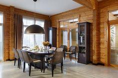 Деревянный коттедж в экостиле с видом на озеро и сосновый лес | Дома из клееного бруса | Журнал «Деревянные дома»