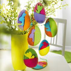 Filz-Eier JAKO-O, Bastelset für 6 Stück online bestellen ♥ JAKO-O