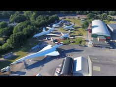 Repositioning Concorde, a BAC 1-11 and a VC10 Fuselage at Brooklands Museum