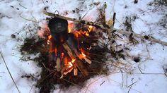 Зимняя прогулка и лесной чай