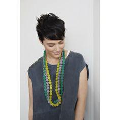 "Two Tone Hexagon Necklace | Necklaces & Pendants | Summer 2013 ""Lumiere"" | Collections | Elk Accessories"