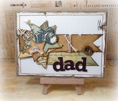 Bo Bunny dad card