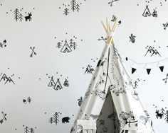 Dramatically convert the look of your living space with these adorable woodland doodle wall decals, giving your walls the look of a custom paint job without any of the hassle! :) These decals were created from my unique, original design and arent available from any other seller :)   ***ITEM DETAILS***  • This set has 17 adorable woodland elements (see 3rd preview image). You will receive over 200 little stars, over 30 of various styles of trees, and 4 of each of the other elements, for a…