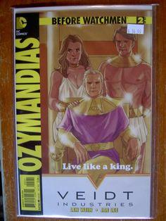 Special Cover For Ozymandais Issue