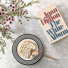 february book club with a side of lemon meringue tart. (if you haven't read joan's collection of essays, mostly on california in the and well, i recommend it even more than the tart. Coffee Break, My Coffee, Lemon Meringue Tart, The White Album, Sweet Nothings, Golden Girls, Girl Blog, Place Card Holders, Make It Yourself