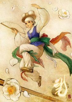South Korean illustrator Obsidian (also known as Huk-yo-suk). Art And Illustration, Korean Illustration, Illustrations, Art Manga, Art Anime, Anime Kunst, Korean Art, Asian Art, Bel Art