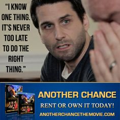 One of the key moment of the film is when David ministers to his brother Peter. Never think that the situation is a lost cause. Don't lose hope. Things can always work out. watch the film at: http://anotherchancethemovie.com/ #another chance, #film, #movie, #forgiveness, #parenting, #teenage pregnancy, #christian, #faith based, #hurt, #change