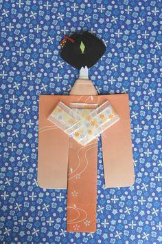 My kimono paper doll