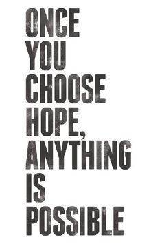 Hope dominate