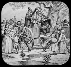 June 10th, 1692: First Salem witch hanging. In Salem Village in the Massachusetts Bay Colony, Bridget Bishop, the first colonist to be tried in the Salem witch trials, is hanged after being found guilty of the practice of witchcraft.