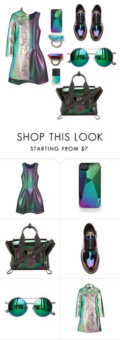 """""""casuall"""" by rocio-segura ❤ liked on Polyvore featuring Cynthia Rowley, Marc by Marc Jacobs, 3.1 Phillip Lim, Dr. Martens and Chicnova Fashion"""