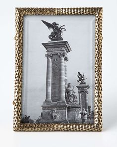 """Scales Gold-Plated 4"""" x 6"""" Frame"""