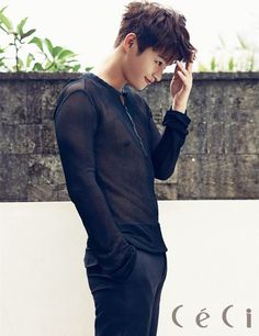 Additional photos of Seo Inguk for Ceci's 20th issue