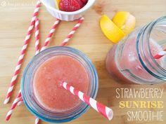 Strawberry Sunrise Smoothie