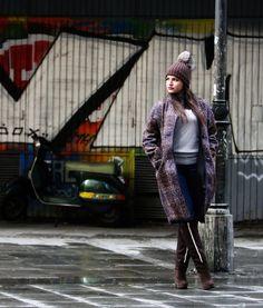 Belgrade outfit - Escada coat Belgrade, Winter Jackets, Punk, Coat, Outfits, Style, Fashion, Winter Coats, Swag