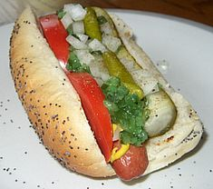 its how chicago does hotdog