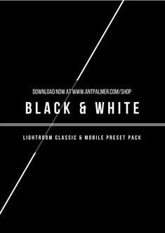 Our new Black and White Presets have landed! 5 Presets for Lightroom Classic and Mobile! Photography Editing, Photo Editing, Learn Photography, Edit Your Photos, Lightroom Tutorial, Camera Hacks, Head Start, Lightroom Presets, My Images
