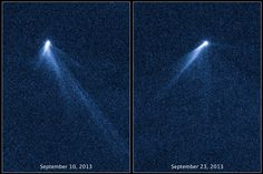 The Unexpected Tails of Asteroid P5 --- Nov. 12 --- Image Credit: NASA, ESA, and D. Jewitt (UCLA) et al.