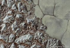 As the robotic New Horizons spacecraft moves into the outer Solar System, it is now sending back some of the highest resolution images from its historic encounter with Pluto in July. Featured here is one recently-received, high-resolution image. On the left is al-Idrisi Montes, mountainous highlands thought composed primarily of blocks of solid nitrogen.