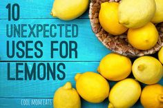 10 super useful, unexpected uses for lemons that go beyond cooking | Cool Mom Eats
