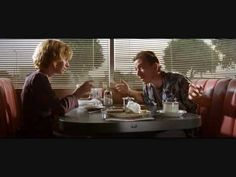 One of the best opening scenes.  Pulp Fiction. Everyone knows Tarantino's a master at selecting music.