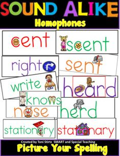 Fundations Level 3 More Than Flash Cards. My Dyslexic students need visual and auditory cues to help remember these hard to spell words. Each card has a sentence and art incorporated into each word to trigger the visual memory of your students. The cards are available in color and black and white. T... Dyslexia Activities, Wilson Reading, Visual Memory, Gillingham, Level 3, Inspiration For Kids, Teaching Reading, Phonics, Sentences