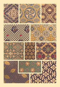 Japanese Patterns No. 2, by Auguste Racinet