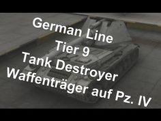 (World Of Tanks) German Line - Tier 9 tank destroyer - Waffenträger auf Pz  IV Slideshow