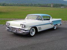 1958 Pontiac Bonneville Sport Coupe.