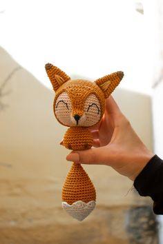 Fox crochet pattern - €4,60