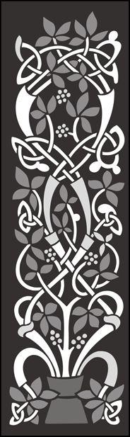 Panel No 3 stencil