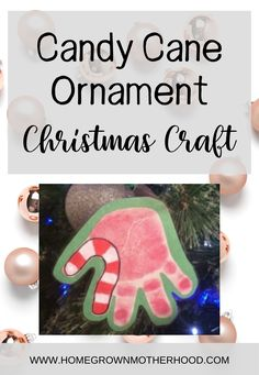 DIY Christmas Candy Cane Ornament Handcraft is sure to be a hit with the grandparents, aunts, uncles, moms or dads or other family members. Fun Christmas tradition that will encourage your kids to be generous, thoughtful and cheerful. Cute handprint ideas. Outdoor Christmas, Christmas Candy, Simple Christmas, Christmas Crafts, Christmas Ornaments, Fun Family Christmas Games, Christmas Activities For Kids, Family Traditions, Christmas Traditions