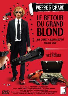 Le Retour du grand blond est un film français réalisé par Yves Robert, sorti en 1974. C'est la suite de Le Grand Blond avec une chaussure noire. Wikipédia / google.ca
