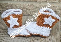 Boot socks for baby girl