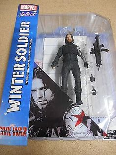 """Marvel select civil war """"winter #soldier"""" action figure #(diamond #select) new.,  View more on the LINK: http://www.zeppy.io/product/gb/2/371743101730/"""